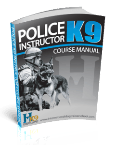 Police K9 Instructor Course Manual