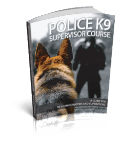 K9 Supervisor Course Manual