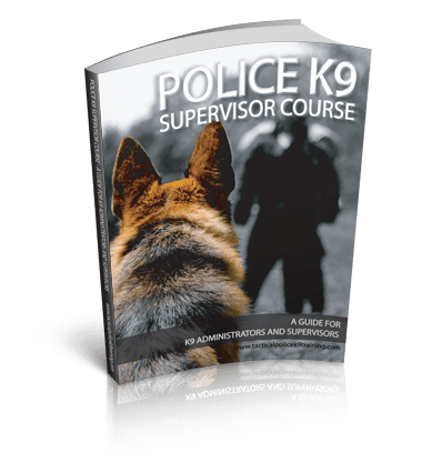 K9 Supervisor training Manual