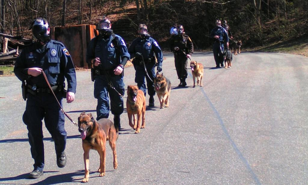 specialized police k9 training