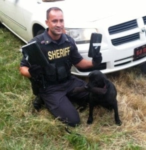 drug dog 2 kilo cocaine find