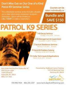 Police K9 Seminar Series