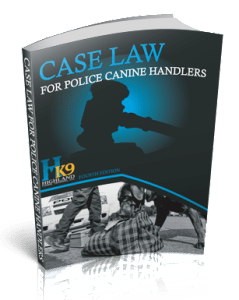 Canine Case Law Book Cover