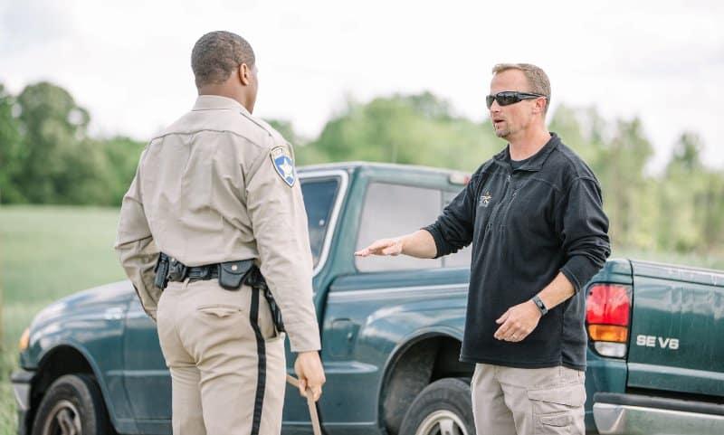 police k9 handler field instruction