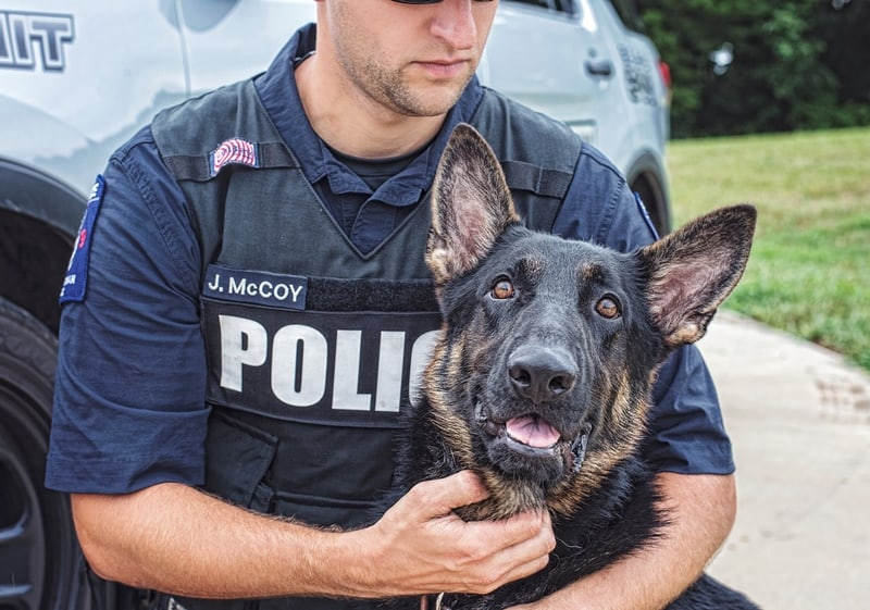 police k9 training programs