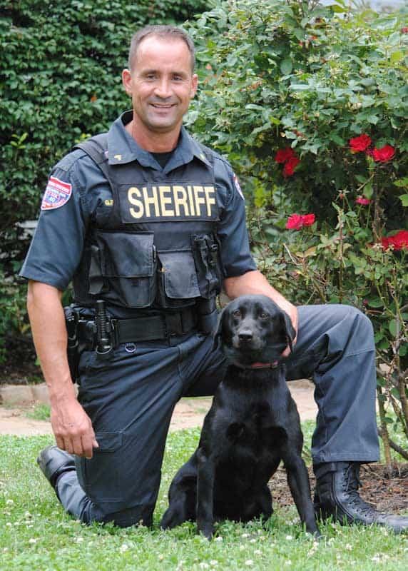gary simpson police k9 instructor