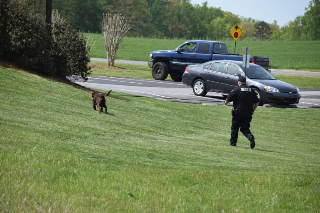 trailing k9 unit