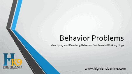 Identifying Behavior Problems